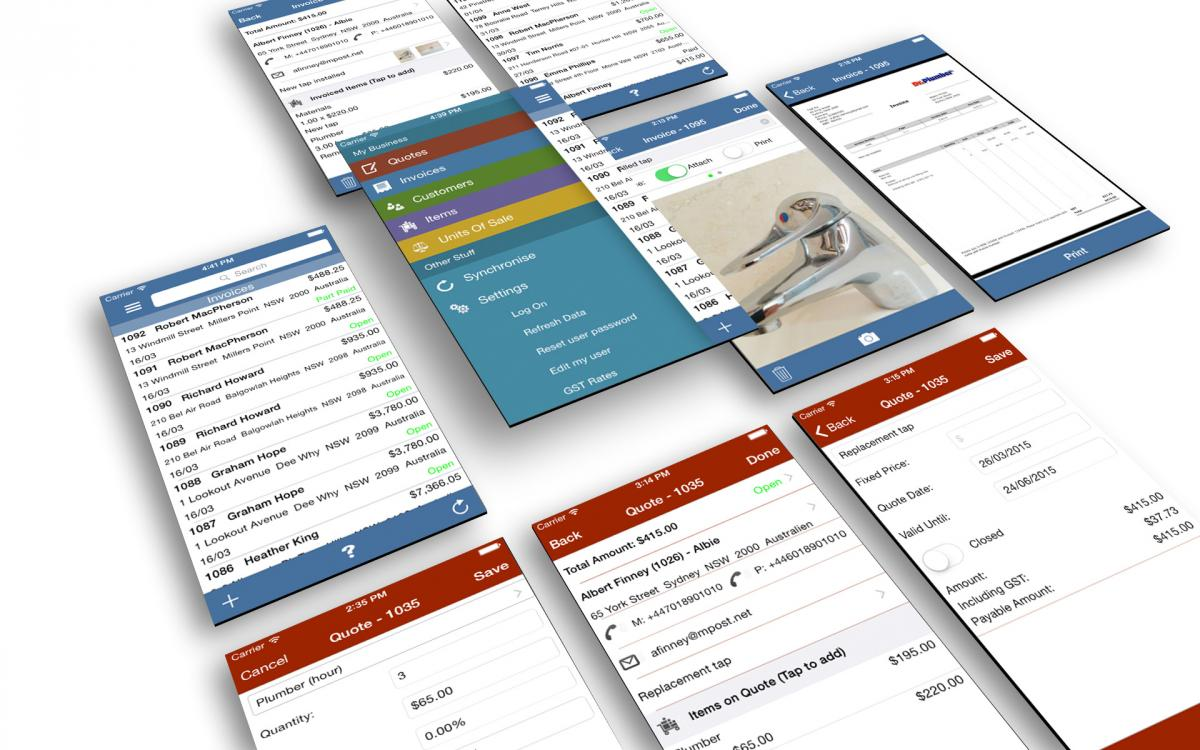 Invoice App SpeedInvoice - Invoice template for android phone
